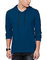 Katso Men's Cotton T-Shirt (Pack of 1) Hood-Full…