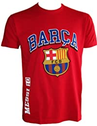 T-shirt Lionel MESSI - N°10 - Collection officielle FC BARCELONE - Taille adulte homme
