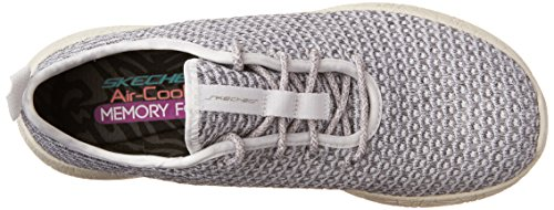 Skechers Burst, Sneakers Basses Femme White/Gray (WGY