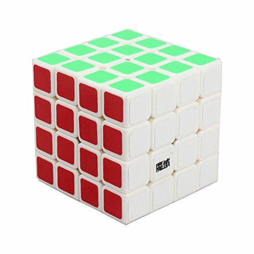 MoYu AoSu Magic Cube Puzzles Classic Toys Speed Layer Professional 4X4X4 cube magique Education apprentissage pour enfants (blanc)