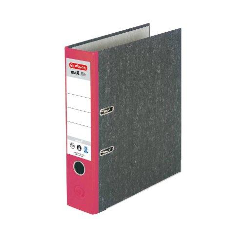 Herlitz 11012812- Archivador A4 8 cm grosor color