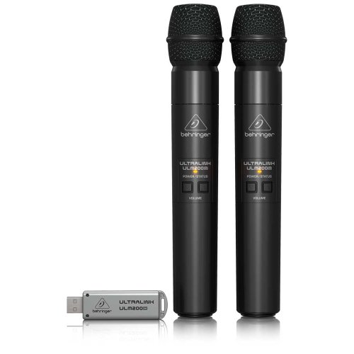 HP 2.4GHz Digital Wireless Dual Mic mit USB Receiver ()