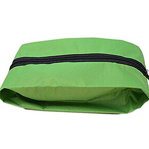 Doitsa Schuhtasche, wasserfeste Schuhbeutel für den Transport von Schuhen auf Reise,Trennen Sie schmutzige Schuhe und saubere Kleidung ideal für den Koffer, Reisetasche oder Handgepäck (Grün) -
