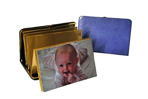 budd-leather-lizard-print-portable-framed-photo-case-4-by-6-inch-lilac-by-budd-leather