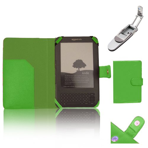 xtra-funky-exclusive-pu-leather-book-wallet-style-case-for-amazon-kindle-3-3rd-generation-with-keybo