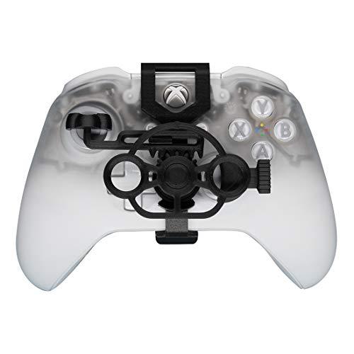 Xbox One Gaming Racing Wheel (verbessert), 3D bedrucktes Mini-Lenkrad für Xbox One X/Xbox One S/Elite Controller Carbon Fiber