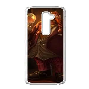 Gragas LG G2 Cell Phone Case White DIY Gift pxf005-3721706
