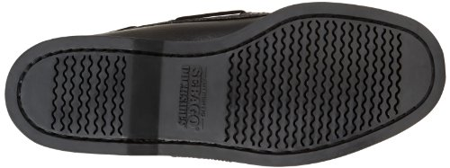 Sebago Docksides, Chaussures bateau homme Noir (Black)