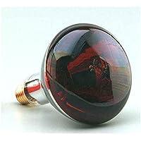 F-Bright Lámpara Infrarroja E27, 250 W, Rojo, 12.5 cm