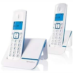 Alcatel Versatis F230 Duo Téléphone sans Fil Bleu