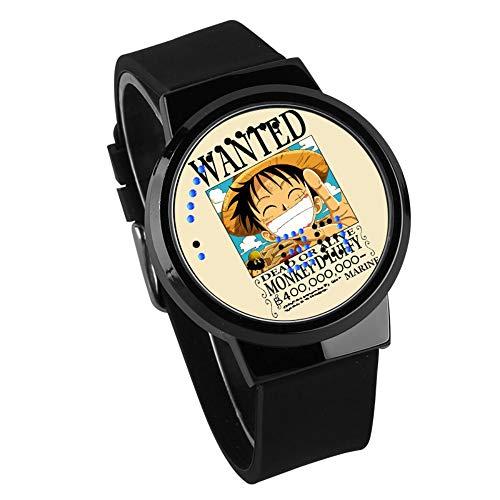 Armbanduhren,Touchscreen Led-Uhr Joba Solon Ais Sekundäre Animation Nachtlicht Wasserdichte Elektronische Wasserdichte Uhr Schwarzes Armband Für Waffenkoffer