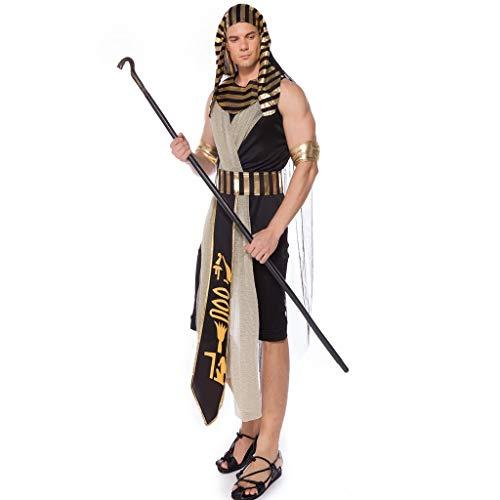 Nonne Für Kostüm Erwachsene Traditionelle - Lomelomme Halloween Herren Halloween Cosplay Overall it Kapuze Mittelalterlichen Kostüm Lang Kleid Kostüm Cosplay Männer