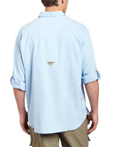 Columbia Tamiami II LS Shirt, chemise à manches longues Homme Sail, Flats Camo