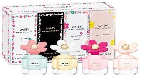 Marc Jacobs Daisy Set di 4Varietà Mini fragranza set regalo per donna
