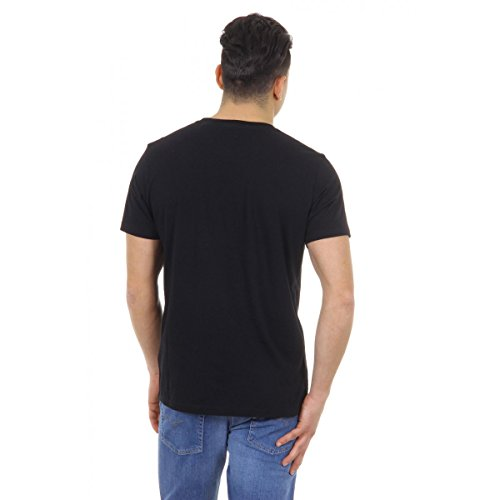 Diesel Herren T-shirt T-DIXE 00SHC1 0JAHZ 900 Schwarz