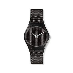 Swatch Reloj Analógico para Mujer de Cuarzo con Correa en Acero Inoxidable GB313A