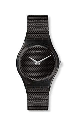 Swatch GB313A - Orologio da polso Donna, Acciaio inox, colore: Nero