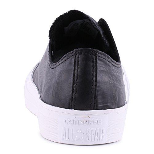 Converse All Star Ox Donna Sneaker Nero Schwarz
