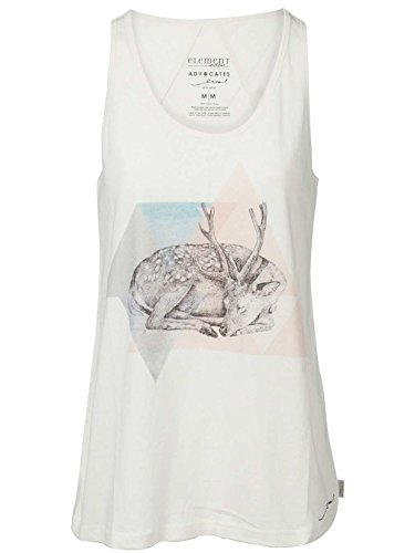 Damen Top Element Sleepy Deer Tank Top Ivory