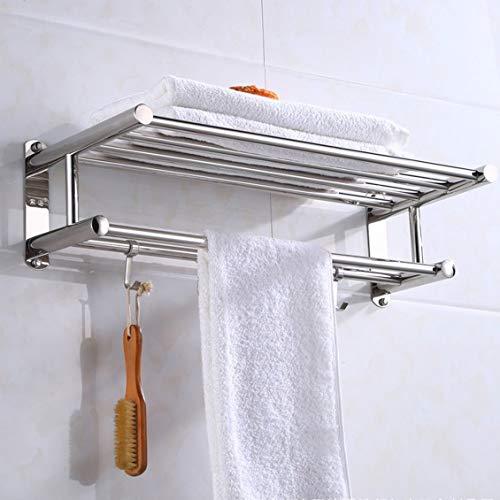 fghdfdhfdgjhh Soporte para Toallas de baño Organizador de baño Estante de Toalla...