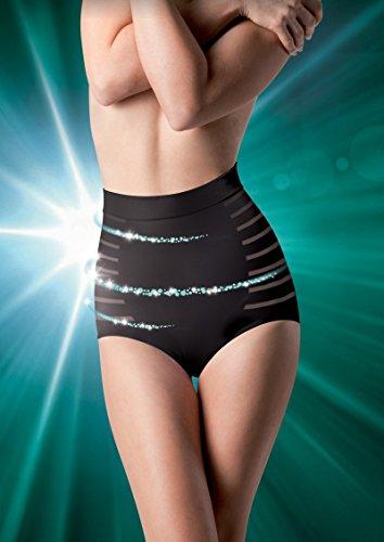 Lytess Dermotextile Minceur Flash Culotte Ventre Plat Noir - Taille : L/XL