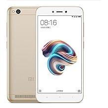 """Xiaomi Redmi 5A, Smartphone con Tarjeta SIM dual 5.0"""", 2 GB, 16 GB, 13 MP, Android, Oro"""