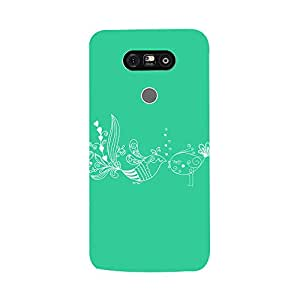 Digi Fashion Designer Back Cover with direct 3D sublimation printing for LG G5