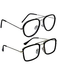 Peter Jones Combo of 2 Designer Unisex Optical Frames (S16009-16006S)