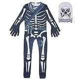 Megacos Halloween Skull Trooper Cosplay Disfraz Kids 140