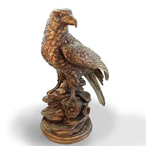 Adler Ornamente Handwerk antik Kupfer Innen Wohnzimmer Couchtisch TV Schrank Schreibtisch Dekoration Design SPFOZ (Color : A)