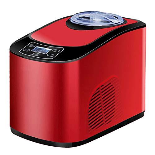 QJJML Mini-Eiscreme-Maschine, Automatische Selbstgemachte Eiscrememaschine FüR Zu Hause, Kleine Kommerzielle Eiscrememaschine, Schnelle AbküHlung, Langfristige Isolierung