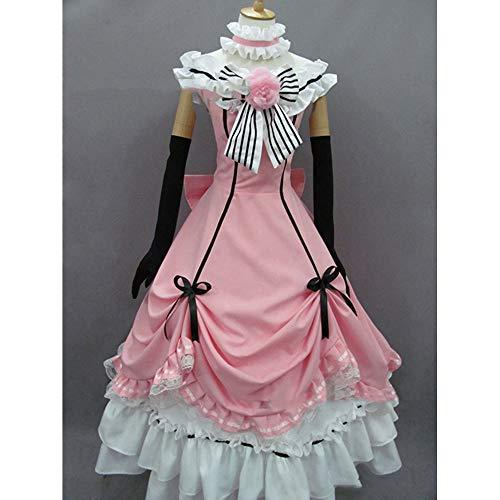 Ciel Kostüm Phantomhive Weibliche - Hzd Beste Black Butler Brina Palencia Frauen Cosplay Kostüm,L