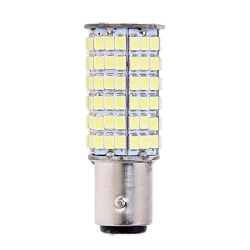 TOOGOO(R) LAMPADA LUCE STOP 120 LED SMD 1157 1016 P21/5W BIANCO