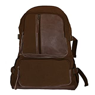 Fox Outdoor Products Retro Airman's Rucksack, Vintage Brown