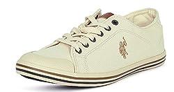 US Polo Association Mens Beige Boat Shoes - 10 UK/India (44 EU)