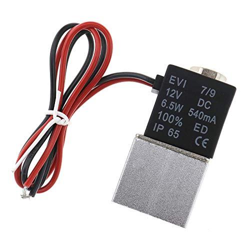 """1/4""""Zoll Normalerweise Geschlossenes Schnelles Elektrisches Magnetventil 12V DC"""