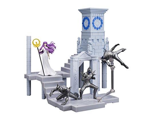 BANDAI- Atenea Diosa y Extension Set Reloj Santuario, Figura de 10 cm, Saint Seiya DD Panoramation (BDISS128496) 1