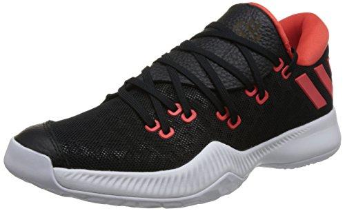 adidas Herren Harden B/E Basketballschuhe, Schwarz (Core Black/Ftwr White/Hi-RES Red S18), 46 EU (Adidas-basketball-schuhe Schwarz)