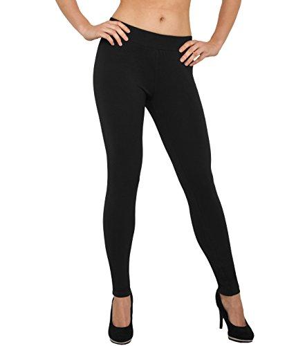 Legging leggings–Monica Jersey 605Taille XS–5x l Noir - Noir