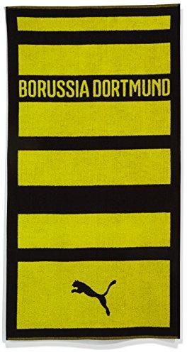 PUMA Handtuch BVB Towel, black-cyber yellow, OSFA, 749877 02
