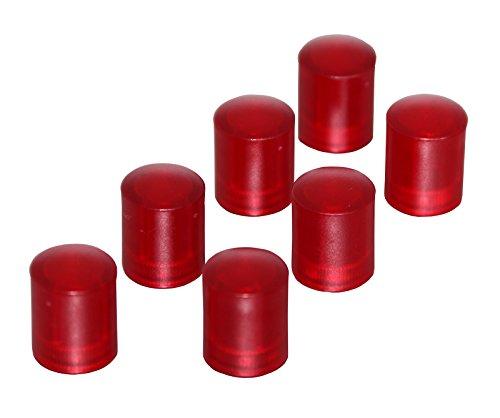 Preisvergleich Produktbild Neodym-Organisationsmagnet – Mini-Magnet in Zylinderform – Ideal als Pinnwand-Magnet – 14 x 9 mm – rot – von Magna-C