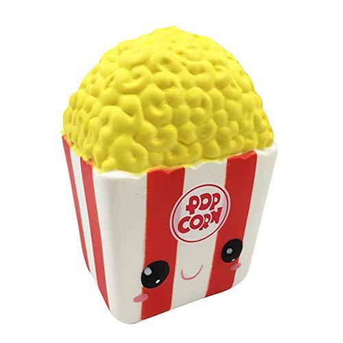Modell Vent Spielzeug Ornamente, Niedliches Emoji-Popcorn-langsames Steigendes entlasten Druck-Kind-Erwachsenes Pressungs-Spielzeug-Geschenk ()