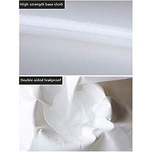 ZMXZMQ Poly Resistente Telo, 0,46 Mm di Spessore Impermeabile, Copertura di Protezione UV Blocco, con Anelli di Tenuta per Canopy Tenda Tenda Barca RV O Copertura Piscina,4 * 5m