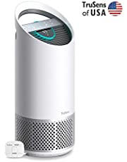 TruSens Z-2000 Air Purifier | Remote SensorPod | 360 HEPA Filtration with Dupont Filter | UV Light Sterilization Kills Bacteria Germs Odor Allergens in Home | Dual Airflow for Full Coverage