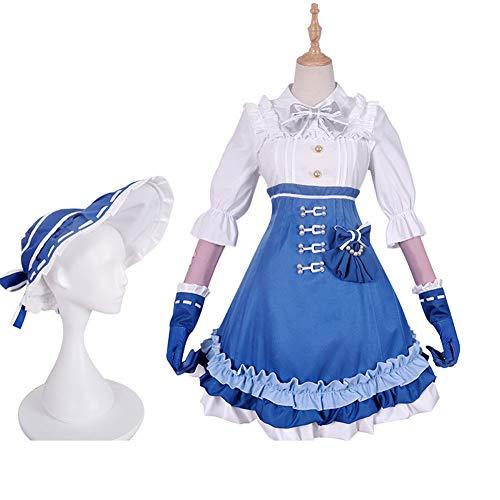 WWJIE Cos Kleidung Garten Ding Lancom Traum Cosplay Kostüm weibliche Anime Kleidung Kinder vor Ort Werkzeugkasten-XL