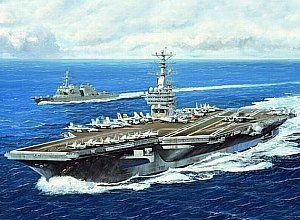 Trumpeter 1:700 - USS Nimitz CVN-68 2005