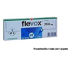 Pipeta FLEVOX pipetas anti pulgas,garrapatas Spot On perros 20-40 Kg antipulgas
