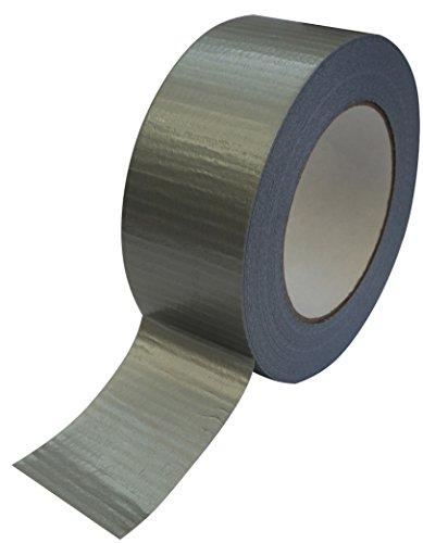 4 Rollen Profi Gewebeband Extra stark 50m:48mm Allzweckband silber