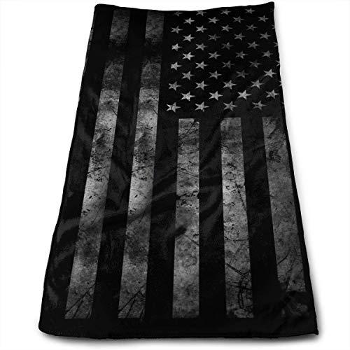 10fda3e0 Terry Cloth Towel US USA American Flag Retro Microfiber Sports Travel Towel  Soft Fast Dry for