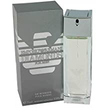 Emporio Armani Diamonds by Giorgio Armani for Men. Eau De Toilette Spray 75 ml